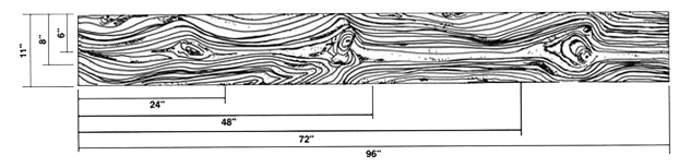 Wood Plank Stamp Dimensions